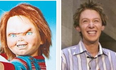 American Idol Look-alike: Clay Aiken and Chucky