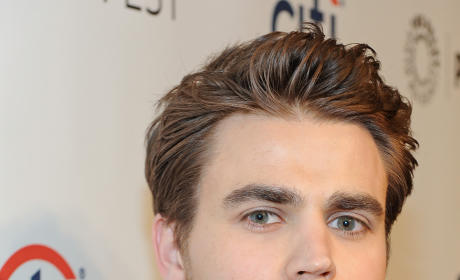 Paul Wesley Backstage