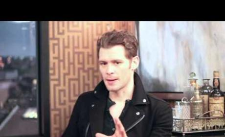 Joseph Morgan on Klaus' Crazy Ex-Girlfriend
