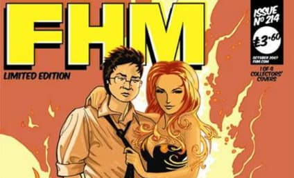 Masio Oka, Hayden Panettiere on FHM Cover