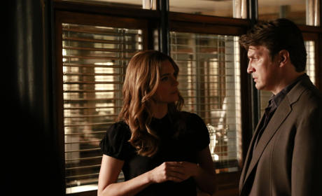 Castle Photo Preview: She's No Angel