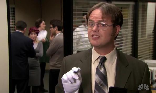 Intense Dwight