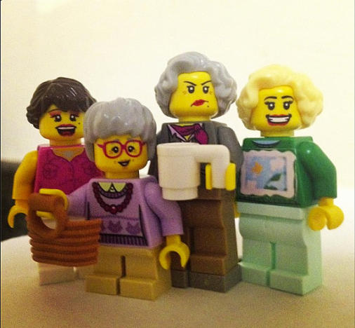 Golden Girls Legos