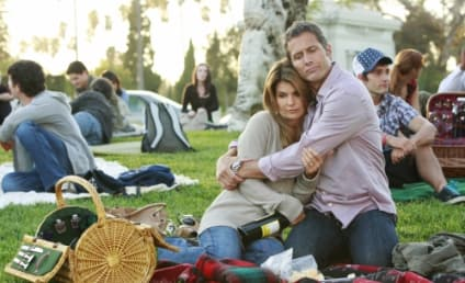 """A Montage of 90210 Photos from """"Hollywood Forever"""""""