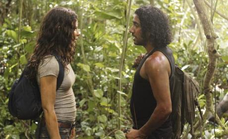 Kate with Sayid