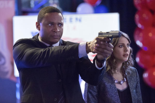 David Ramsey is John Diggle