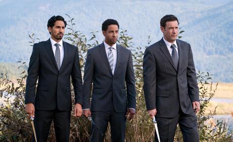 The Three Amigos - Supernatural Season 11 Episode 9