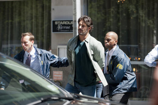 Joe Manganiello on White Collar
