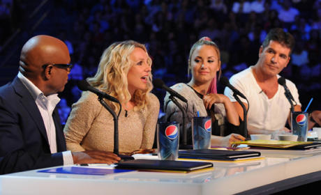 The X Factor Judging Team