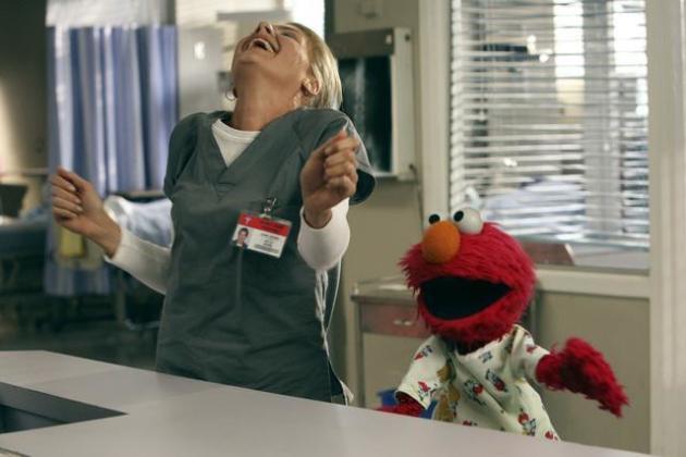 Denise and Elmo Dance