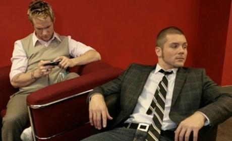 American Idol Photoshop Fun: Blake Lewis and Chris Richardson Get Cozy