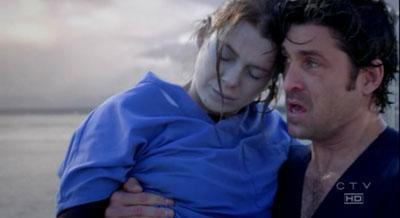 Derek Rescues Meredith