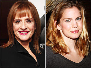 Patti LuPone and Anna Chlumsky