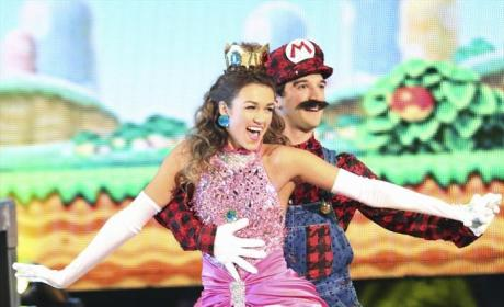 Sadie Robertson and Mark Ballas Dance Freestyle - Dancing With the Stars Season 19 Episode 13