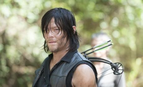 Daryl on Season 5 - The Walking Dead
