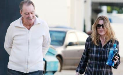 Ellen Pompeo Shops with Dad