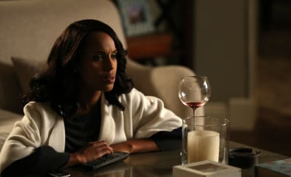 Scandal Photo Preview: The Mistress Drinks Alone