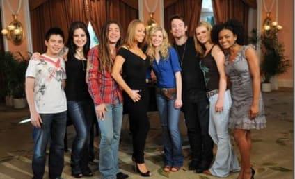 American Idol Finalists Croon Carey