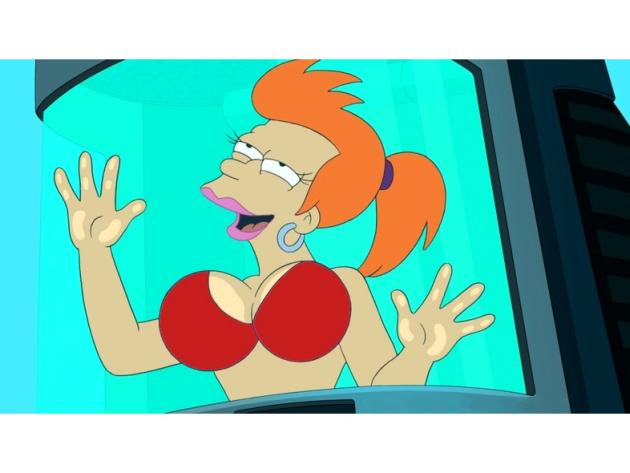 Fry as a Woman