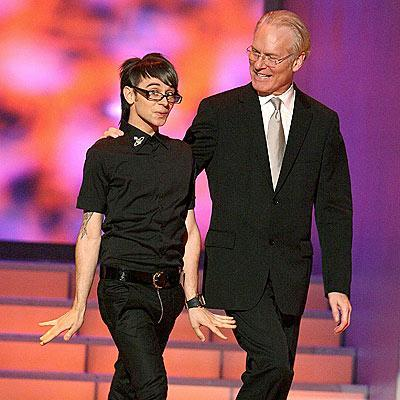 Christian Siriano and Tim Gunn