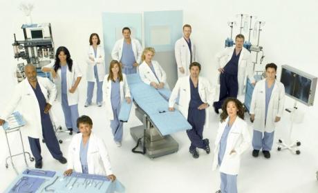 Grey's Anatomy Cast: Season Five Photo