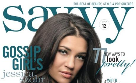 Jessica Szohr Shows Savvy Side