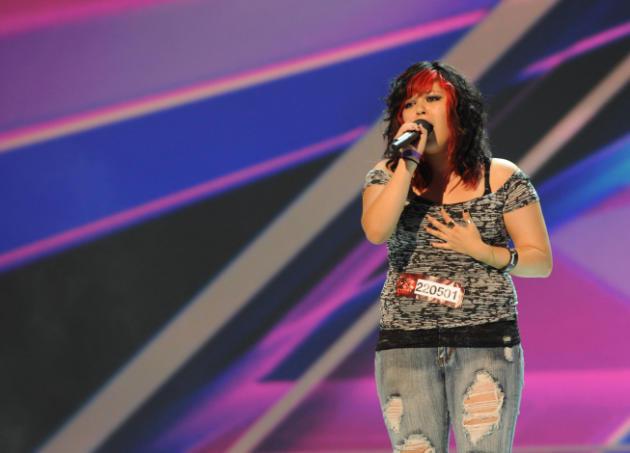 Jessica Espinoza's The X Factor Audition
