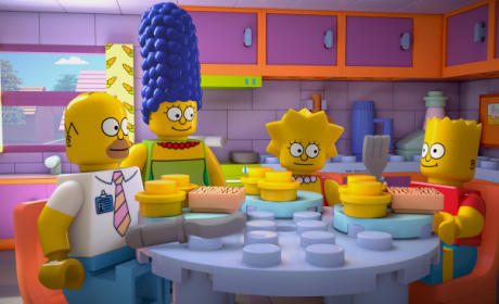 The Simpsons Review: Lego My Movie