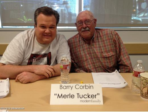 Barry Corbin at a Reading