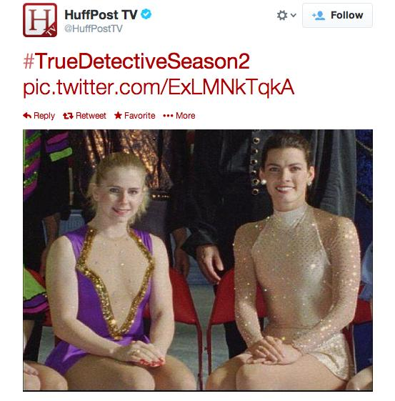 Nancy Kerrigan and Tonya Harding on True Detective Season 2?
