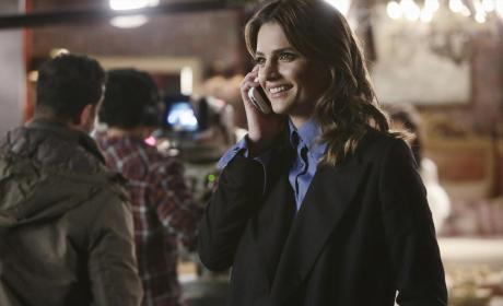 Kate Looks Happy - Castle