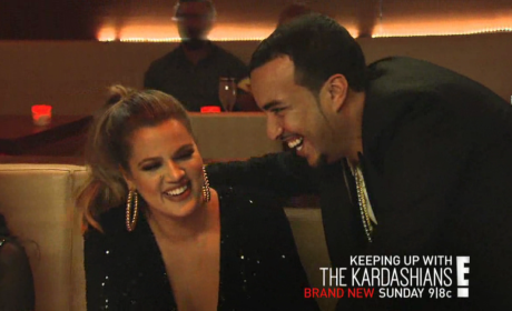 French Montana on KUWTK - Keeping Up with the Kardashians
