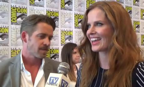 Sean Maguire and Rebecca Mader Interview