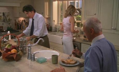 A Cohen family dinner
