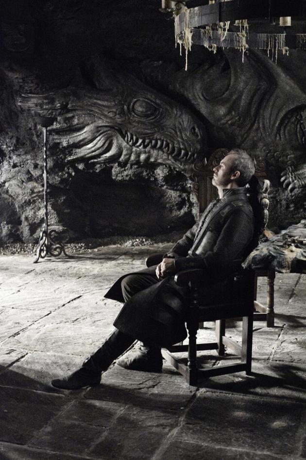 Stephen Dillane as Stannis Baratheon