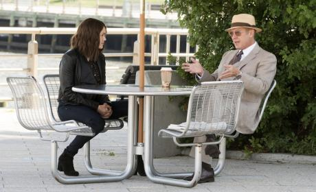 Red loves his coffee - The Blacklist Season 4 Episode 4