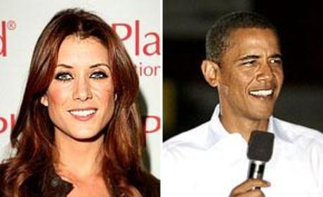 Barack Obama, Kate Walsh Talk Private Practice