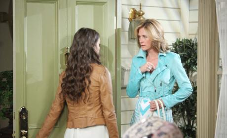 Paige Questions Eve - Days of Our Lives