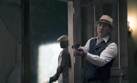 Red arrives with backup - The Blacklist Season 4 Episode 1