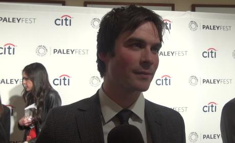 Ian Somerhalder Talks Damon, Bright Lights
