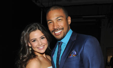 Danielle Campbell and Charles Michael Davis