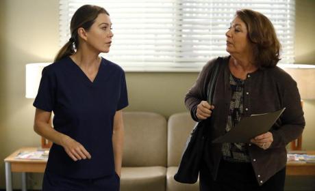Meredith, All Alone - Grey's Anatomy Season 11 Episode 9