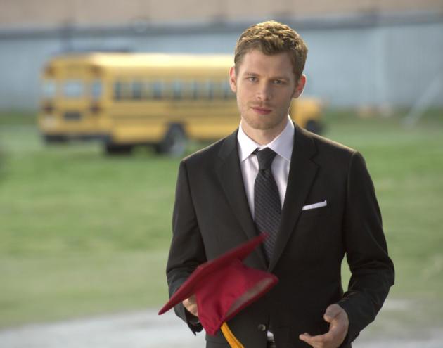 Klaus at Graduation
