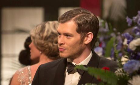Klaus in a Tuxedo