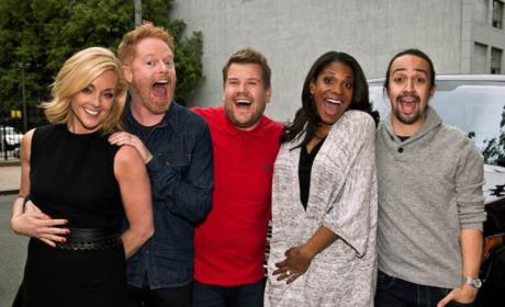 Carpool Karaoke Goes Broadway!