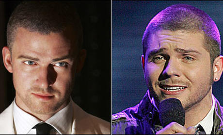 American Idol Look-alike: Chris Richardson and Justin Timberlake