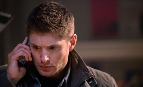 Dean on the Phone - Supernatural Season 10 Episode 13