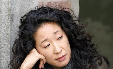 Sandra Oh Films Grey's Anatomy in L.A.