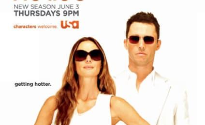 Burn Notice Season Four Poster, Promo