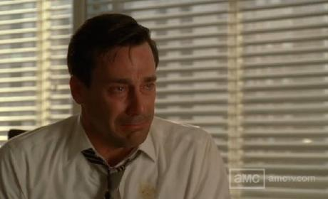 Don Draper in Tears